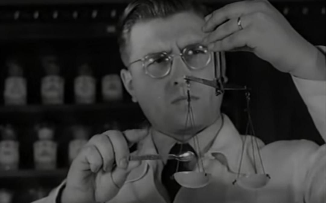 """Apotheker: """"Hüter der Gesundheit"""" (Kurzfilm aus 1952)"""